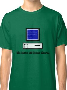 Blue Screen  Classic T-Shirt