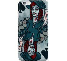 Ellen, Vampire Queen of Spades iPhone Case/Skin