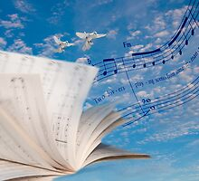 """Musical Winds"" surrealistic photo montage musically inspired by ArtThatSmiles"