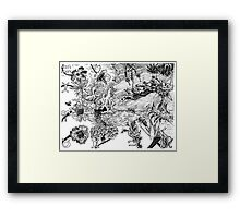 2007 Tiananmen Square & The Dieing Bees Framed Print
