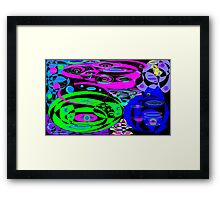 Last Minute Christmas Shopping ALL Stressed OUT Framed Print