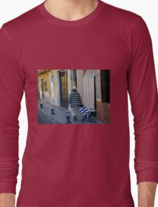 Out for a Stroll - Carcaixent, Spain Long Sleeve T-Shirt