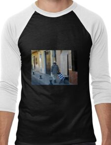 Out for a Stroll - Carcaixent, Spain Men's Baseball ¾ T-Shirt