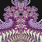 'Purple Fractal Fountain' by Scott Bricker