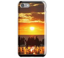 Cable Beach Camel Ride iPhone Case/Skin