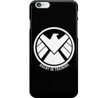Agent In Training (White) iPhone Case/Skin