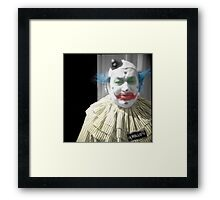 Rollo the Clown Framed Print