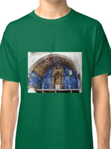 Ornate Tiled Facade - Obidos, Portugal Classic T-Shirt