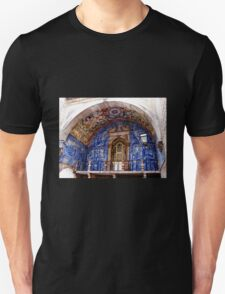 Ornate Tiled Facade - Obidos, Portugal Unisex T-Shirt