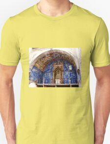 Ornate Tiled Facade - Obidos, Portugal T-Shirt