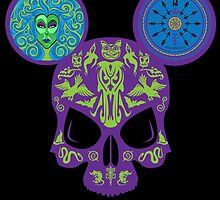 Haunted Skull by Imafoolishmortal by Afoolishmortal