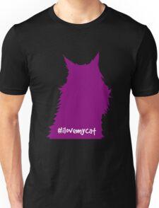 Purple Silhouette: Willow Unisex T-Shirt