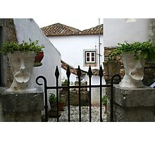The Gate Keepers - Obidos Photographic Print