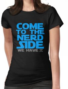 Come To The Nerd Womens Fitted T-Shirt