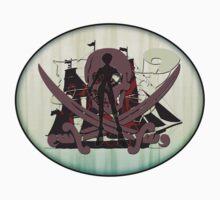 Pirates of the Inbetween - sticker by vampvamp