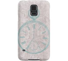 Victorian Time Steam Punk Pocket Watch Samsung Galaxy Case/Skin