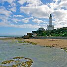 Lighthouse, Point Lonsdale, Victoria. by johnrf