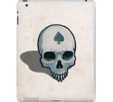 Vampire Skull, Ace of Spades iPad Case/Skin