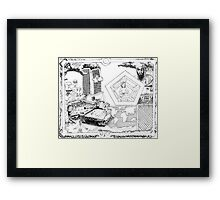 2002 Osama Bin Ladin and Controlled Demolitions on 9/11 Framed Print
