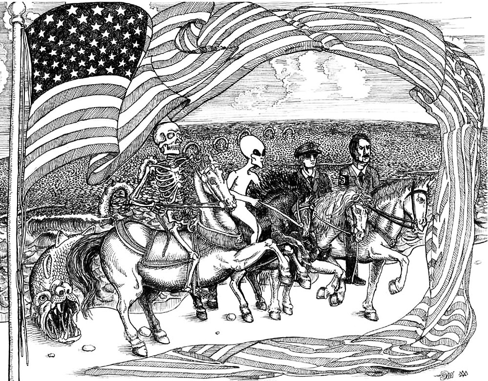 2000 Four Horseman and the coming Coup de Tat by Davol White