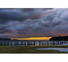 Lummi Bay Sunset  Photographic Print