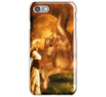 Pegasus and the Maiden iPhone Case/Skin