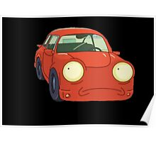 Car Morty Poster