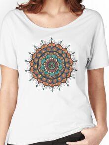 Autumn Flower  Women's Relaxed Fit T-Shirt