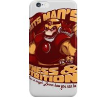 Guts Man's Fitness iPhone Case/Skin