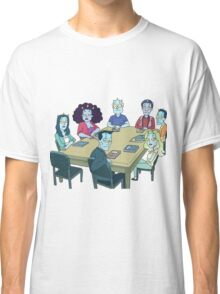 Rick and Morty: The Study Group Classic T-Shirt
