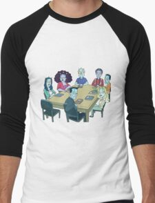 Rick and Morty: The Study Group Men's Baseball ¾ T-Shirt