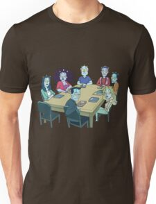 Rick and Morty: The Study Group Unisex T-Shirt