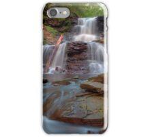 August Evening Below Tuscarora Falls iPhone Case/Skin