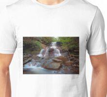 August Evening Below Tuscarora Falls Unisex T-Shirt