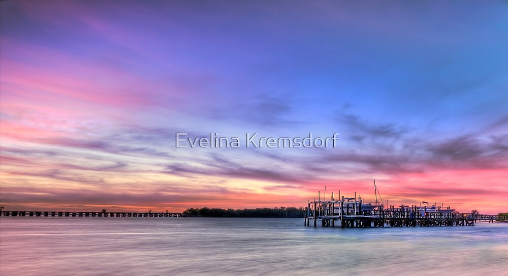 Blushing Skies by Evelina Kremsdorf