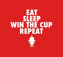 Eat Sleep Win the Cup Repeat (with trophy) Unisex T-Shirt