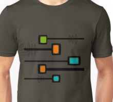 Mid-Century Modern Abstract Unisex T-Shirt