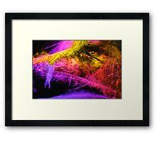 Palm aura Framed Print