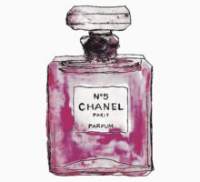 Chanel 5 pink by whatkimydid