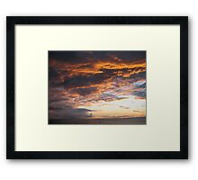 Algerian Sunrise 2: Blush Framed Print