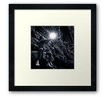 Offer/Receive Framed Print