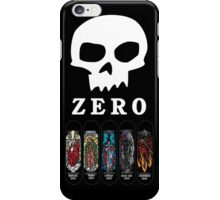 Zero Logo Sket iPhone Case/Skin