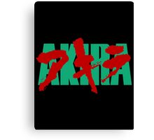 Akira - Japanese Official Alternate Logo! Canvas Print
