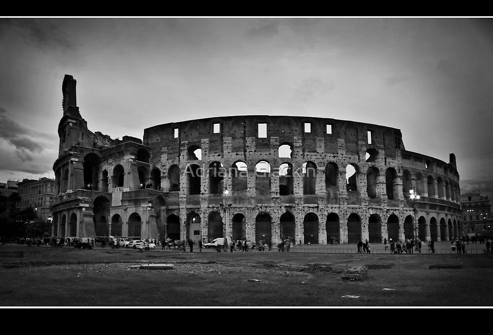 il colosseo by Adriana Glackin