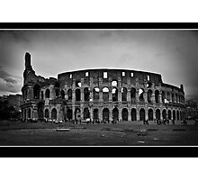 il colosseo Photographic Print