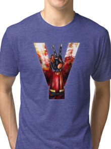 Peace In Our Time(1984) Tri-blend T-Shirt
