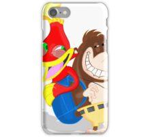 Ren and Stimpy x Banjo-Kazooie iPhone Case/Skin