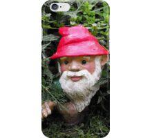 Hiding Gnome iPhone Case/Skin
