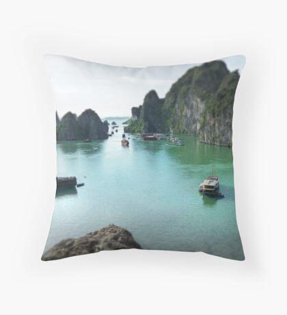 Halong Bay Throw Pillow