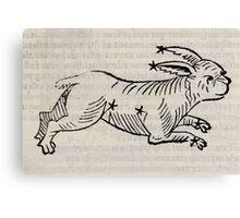 Hic Codex Auienii Continent Epigrama Astronomy Rufius Festivus Avenius 1488 Astronomy Illustrations 0177 Constellations Canvas Print